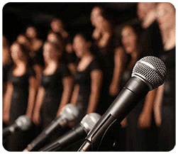 کلاس های آواز گروهی (کُر)